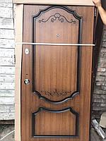 Входная дверь с патиной для улицы или квартиры  Вип Эко комплектация с бесплатной доставкой