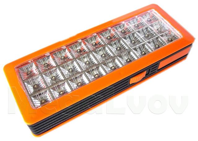 Лампа-Фонарь - встроенный аккумулятор, 2 режима свечения