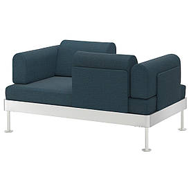 IKEA DELAKTIG (892.537.77) 2-місний диван, синій
