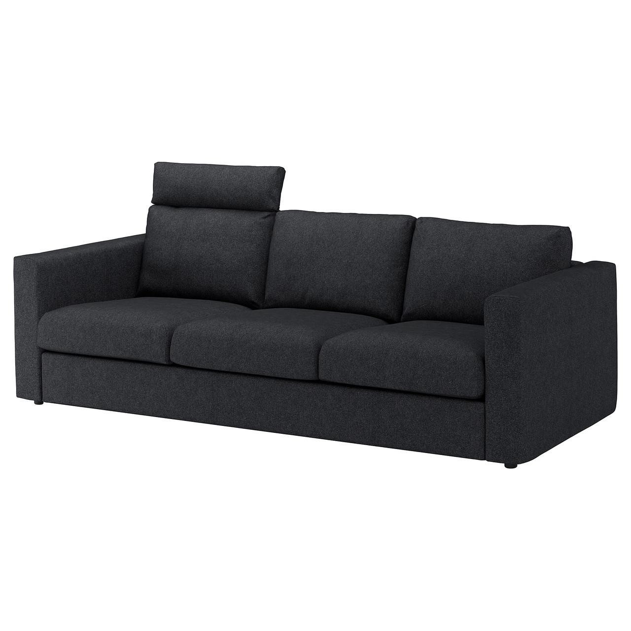IKEA VIMLE (392.566.22) Трехместный диван, изголовье
