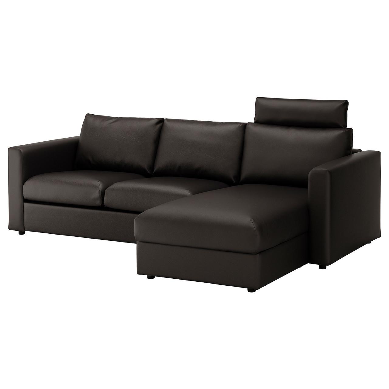 IKEA VIMLE (592.566.83) 3-местный диван, с шезлонгом