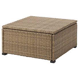 IKEA SOLLERON (403.736.15) Стіл, сад, коричневий
