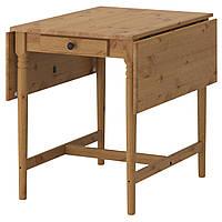 IKEA INGATORP (202.214.25) Стол с листьями, пятно патины