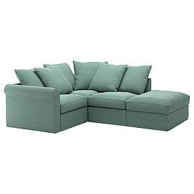 IKEA GRONLID (192.562.32) Угловой диван, 3-х местный, с открытым концом