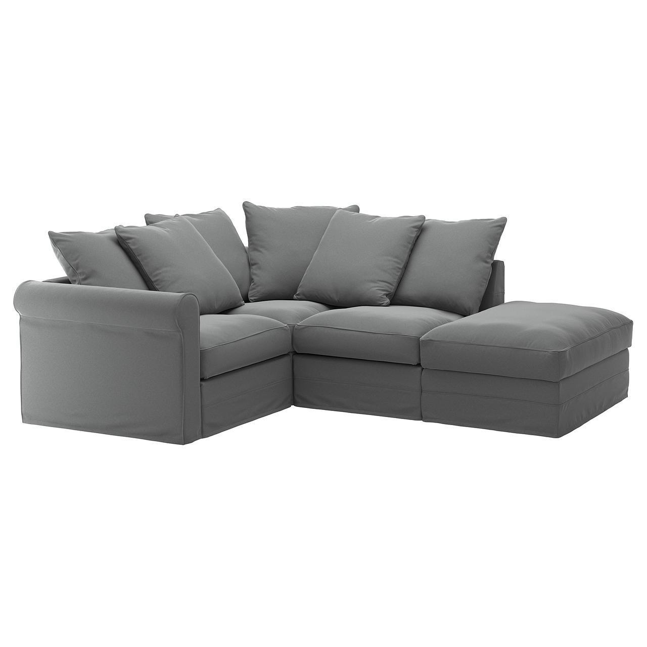 IKEA GRONLID (892.559.98) Угловой диван, 3-х местный, с открытым концом