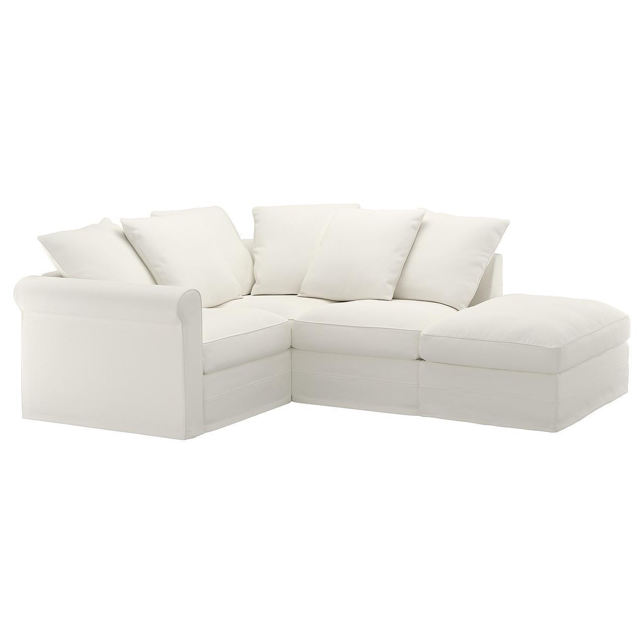 IKEA GRONLID (492.546.65) Угловой диван, 3-х местный, с открытым концом