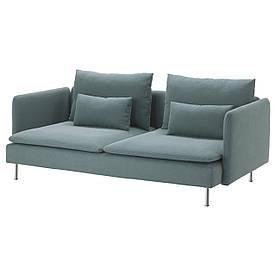 IKEA SODERHAMN (891.359.44) Трехместный диван, Самста, темно-серый