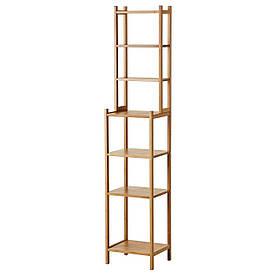IKEA RAGRUND (302.530.67) Шкаф, бамбук