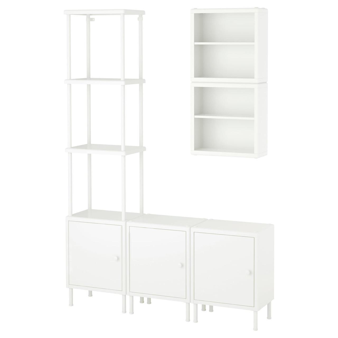 IKEA DYNAN (391.834.09) Шкаф с 3 шкафами, белый