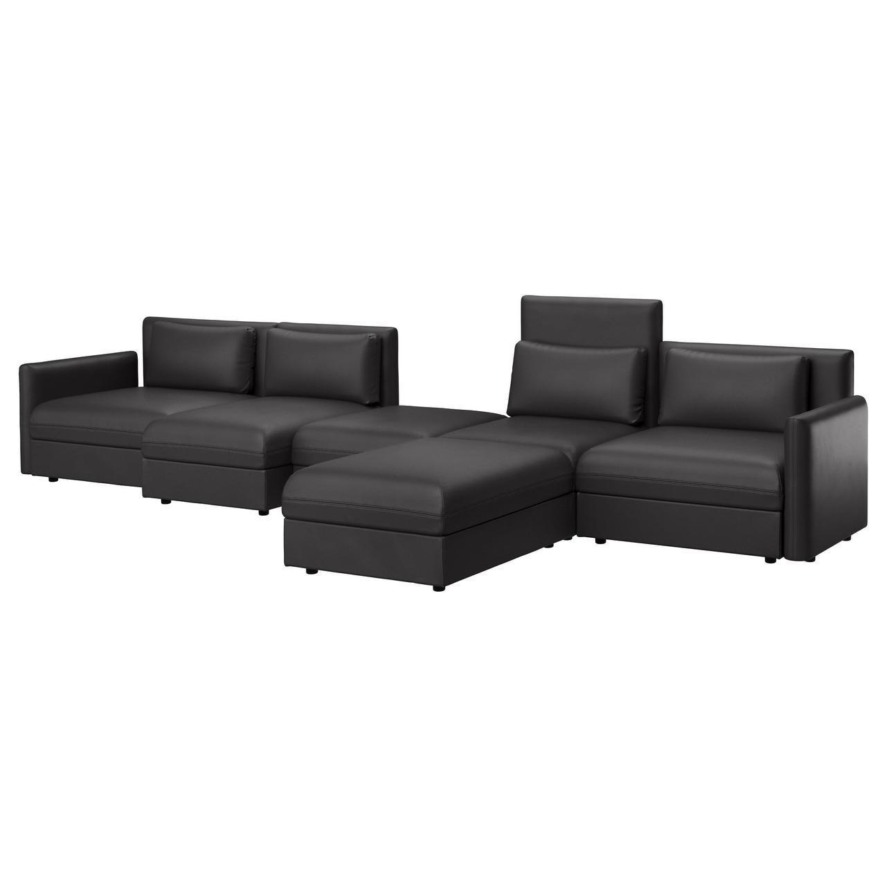 IKEA VALLENTUNA (391.494.63) 5-местный диван, Murum meringue