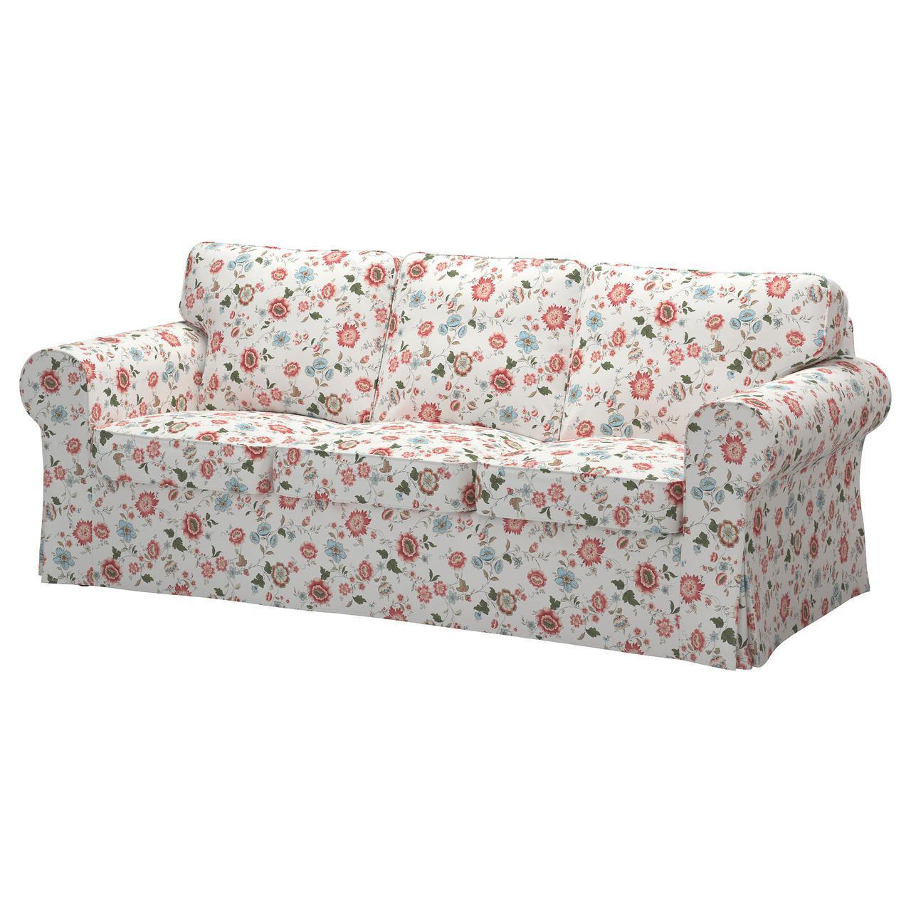 IKEA EKTORP (091.292.11) Трехместный диван, Нордвалла темный без