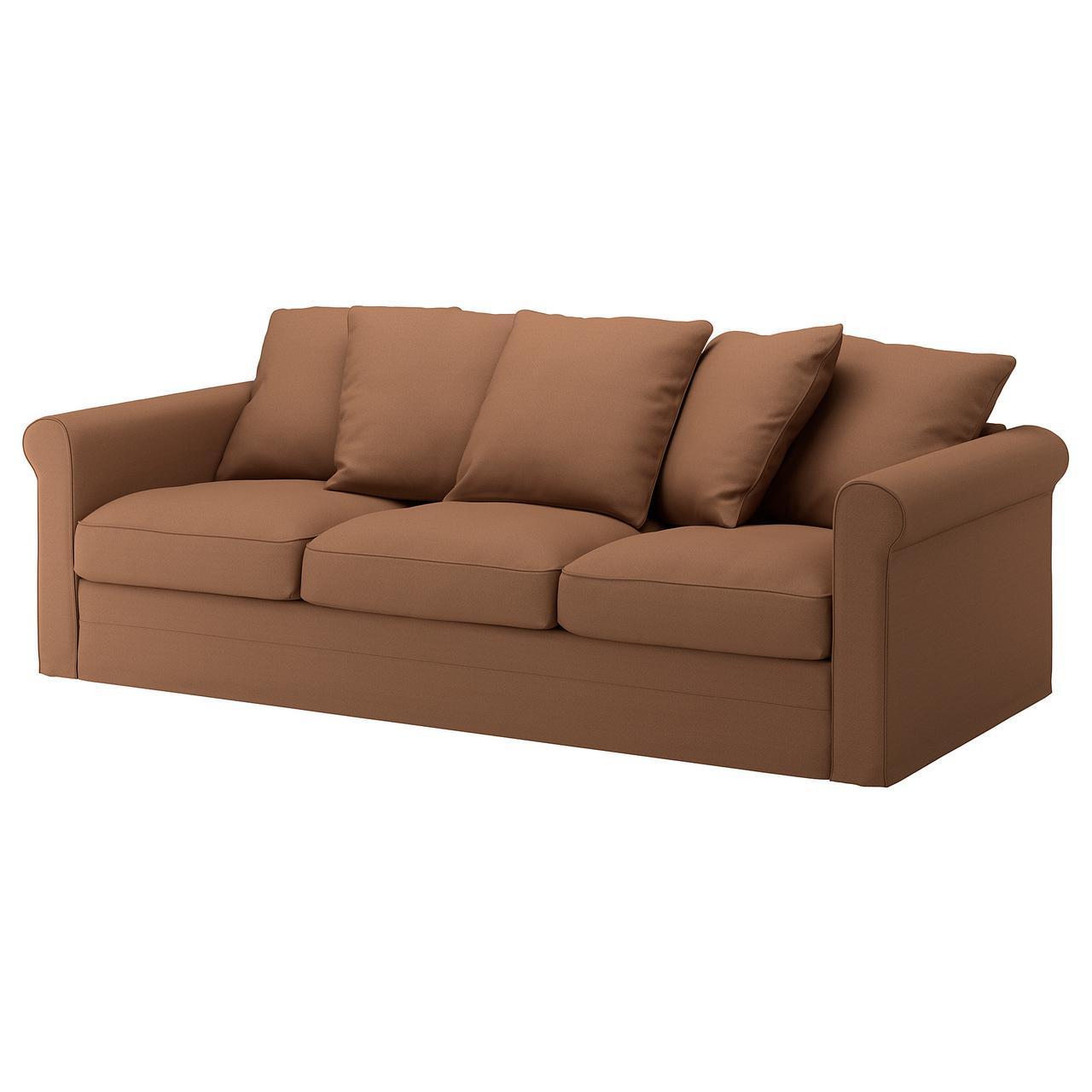 IKEA GRONLID (692.554.52) 3-местный диван, Ljungen средне-серый