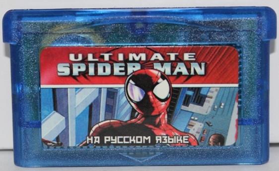 "Картридж на GBA ""ultimate SPIDER MAN"""