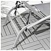 IKEA TORHOLMEN (203.123.26)Шезлонг, серый, фото 4