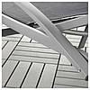 IKEA TORHOLMEN (203.123.26)Шезлонг, серый, фото 6