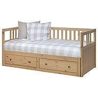 IKEA HEMNES (103.326.74) Кровать с контейнером, голубой