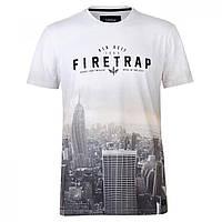 Футболка Firetrap Sub The City City Light Wht - Оригинал 3ab8fdc44c8fd