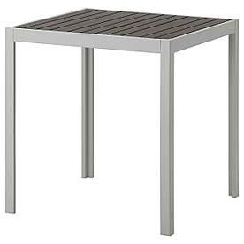 IKEA SJALLAND (292.624.35) Стіл, сад, темно-сірий, світло-сірий