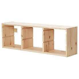 IKEA TROFAST (203.087.01) Настенный шкаф, светлая сосна,