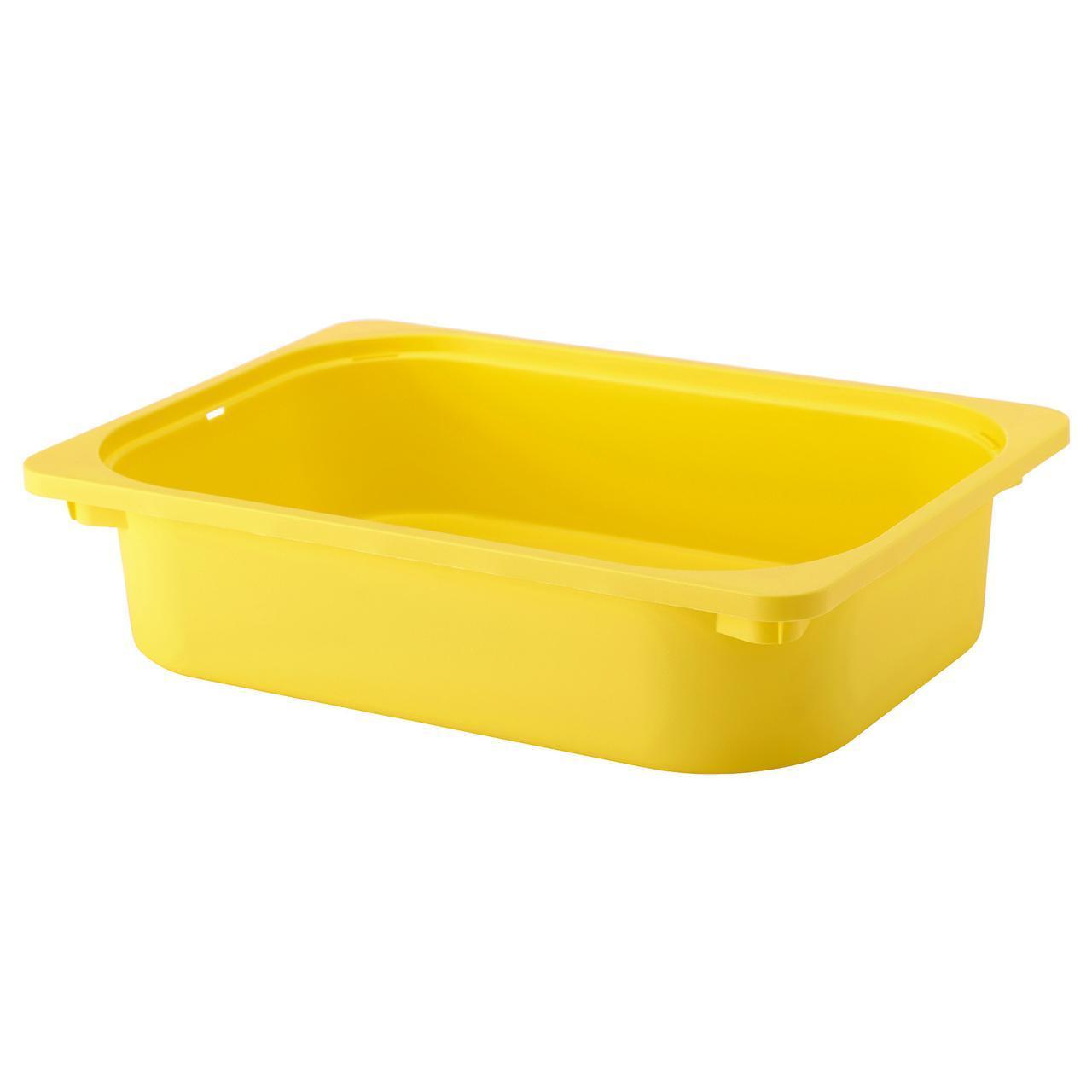 IKEA TROFAST (503.080.02) Контейнер желтый