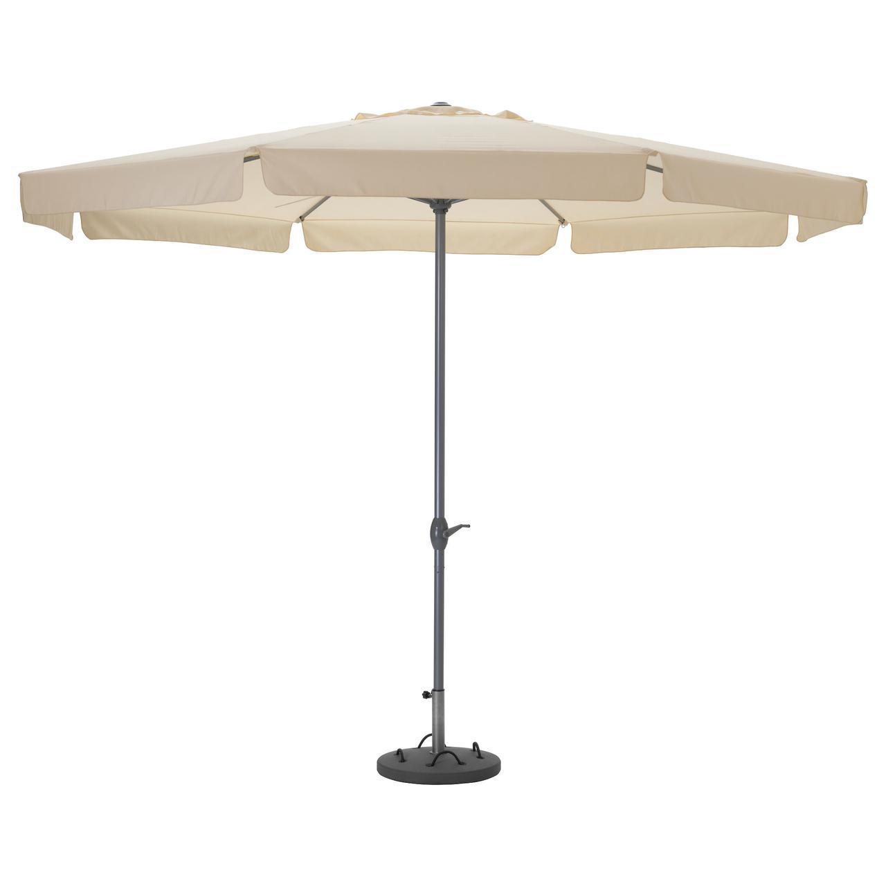 IKEA LJUSTERO (092.193.20) Зонт от солнца с основанием, бежевый