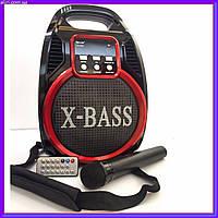 Портативная акустическая система Golon RX-820BT, колонка с радиомикрофоном, фото 1