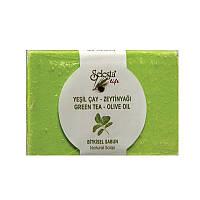 Растительное мыло SELESTAlife с зеленым чаем и оливковым маслом 100 гр (3300019)