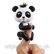 Интерактивная ручная блестящая панда Fingerlings Дрю Glitter Panda WowWee