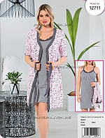 Комплект ночная сорочка и халат в Украине. Сравнить цены 1b01b1e5c1c64