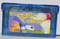 "Картридж на GBA ""Veggie Tales"""