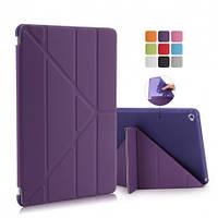 Чехол Smart Case силиконовый для iPad Mini 4 фиолетовый