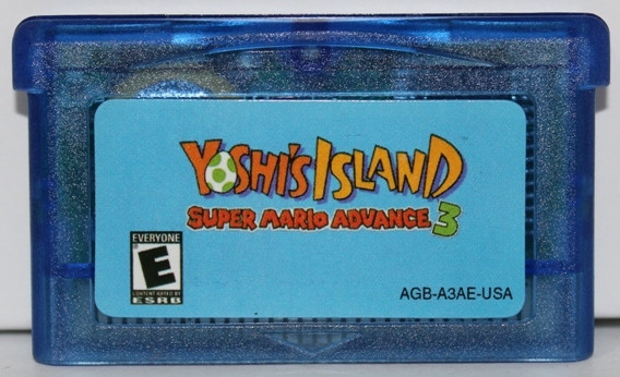 "Картридж на GBA ""Yoshi's Island"""