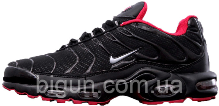 Мужские кроссовки Nike Air Max Tn Black Red (найк аир макс тн ... e9fc4eb6665a6