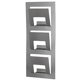 IKEA SPONTAN (201.181.74) Журнальная стойка, серебристая