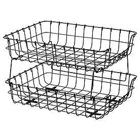 IKEA PLEJA (403.480.46) Лоток для кореспонденції, чорний
