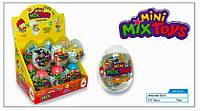 Яйцо прозрачное Микс сюрприз+драже 12 шт./уп. Aras
