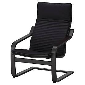 IKEA POANG (592.408.28) Крісло, чорний бриз,