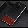 """NOKIA 5.1 Plus (X5) оригинальный кожаный противоударный чехол панель накладка бампер  натур. КОЖА """"IMKO, фото 4"""