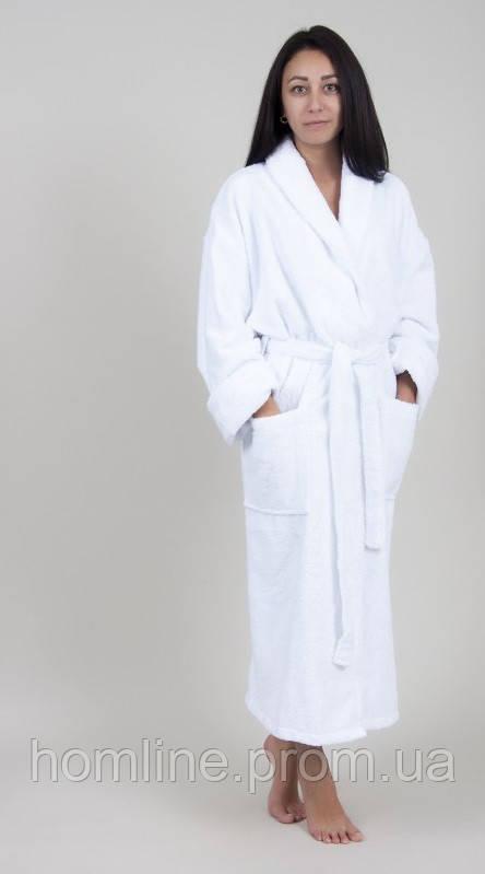 Халат махровый Lotus отельный 3XL белый 400 гр/м2