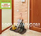 Многофункциональный пластиковый поддон (лоток, подставка) для обуви 76х39х3,3 см., фото 2