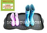 Многофункциональный пластиковый поддон (лоток, подставка) для обуви 76х39х3,3 см., фото 6