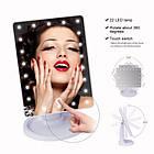 ЗЕРКАЛО с LED подсветкой для макияжа 👰 Large Led Mirror / Косметическое настольное зеркало - МЕЧТА КАЖДОЙ 👰, фото 3