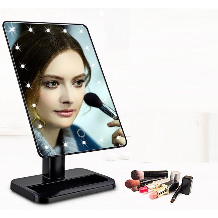 ЗЕРКАЛО с LED подсветкой для макияжа 👰 Large Led Mirror / Косметическое настольное зеркало - МЕЧТА КАЖДОЙ 👰