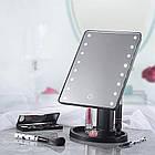 ЗЕРКАЛО с LED подсветкой для макияжа 👰 Large Led Mirror / Косметическое настольное зеркало - МЕЧТА КАЖДОЙ 👰, фото 6