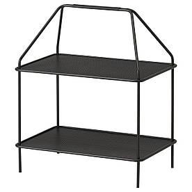 IKEA YPPERLIG (103.461.24) Подставка для журналов, темно-серый