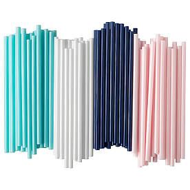 IKEA SOTVATTEN (503.653.23) Соломки, гранатомы/білі, рожеві/бірюзові