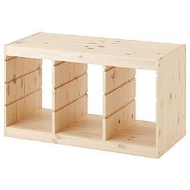 IKEA TROFAST (203.086.97) Рамка для ящик светлая сосна