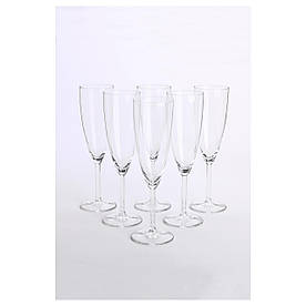 IKEA SVALKA (500.151.22) Бокал для шампан., прозрачное стекло