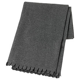IKEA POLARVIDE (502.969.90) Плед, сірий