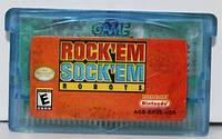 """Картридж на GBA """"Rock 'Em Sock 'Em Robots"""""""